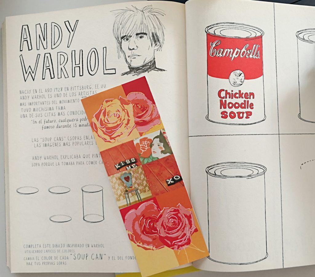 Punt de llibre Pop Andy