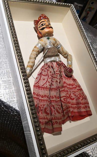 marco a medida para una marioneta