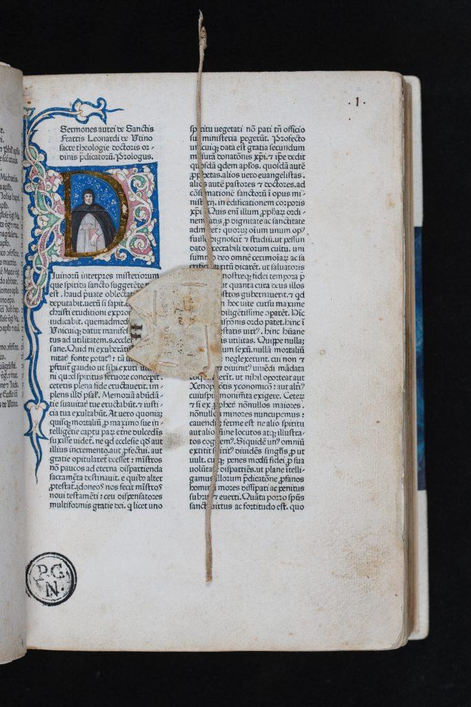 Punt de llibre medieval