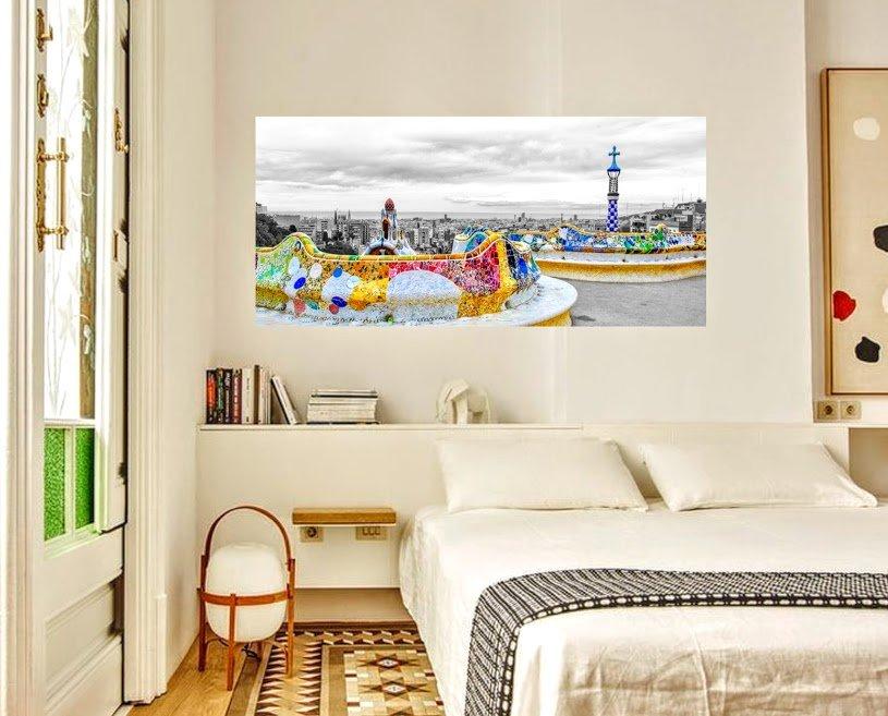 ideas para decorar con fotos de barcelona