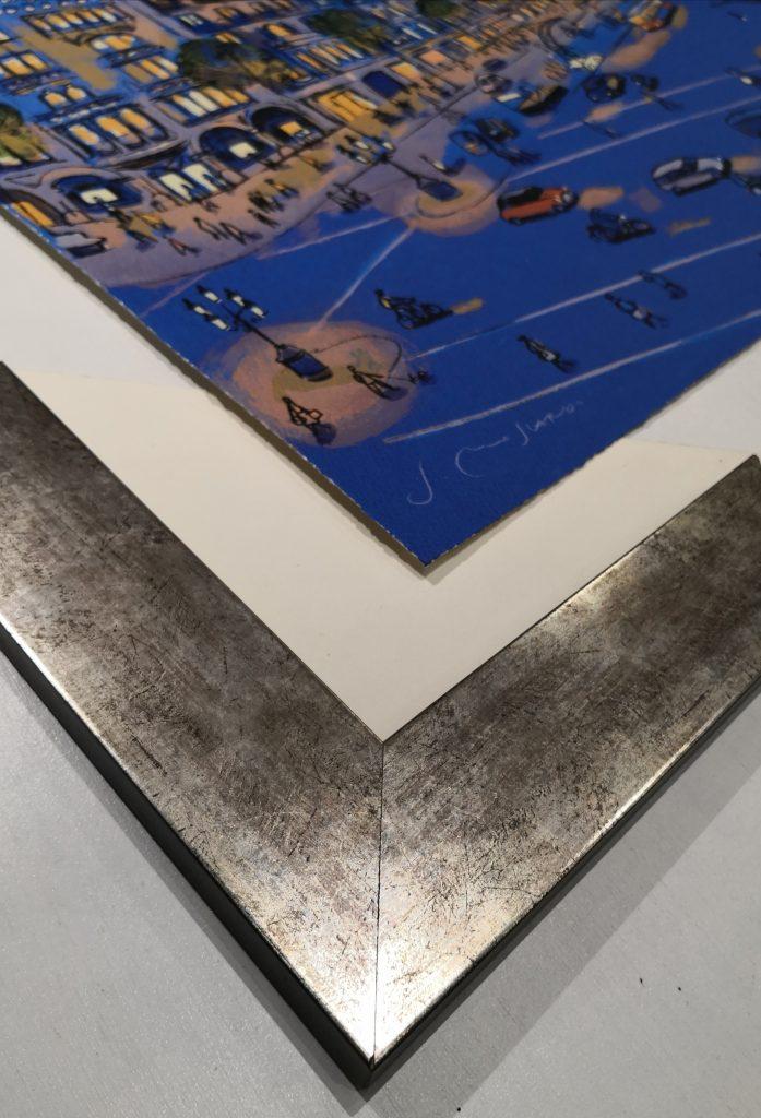 litografia paseo de gracia josep moscardo