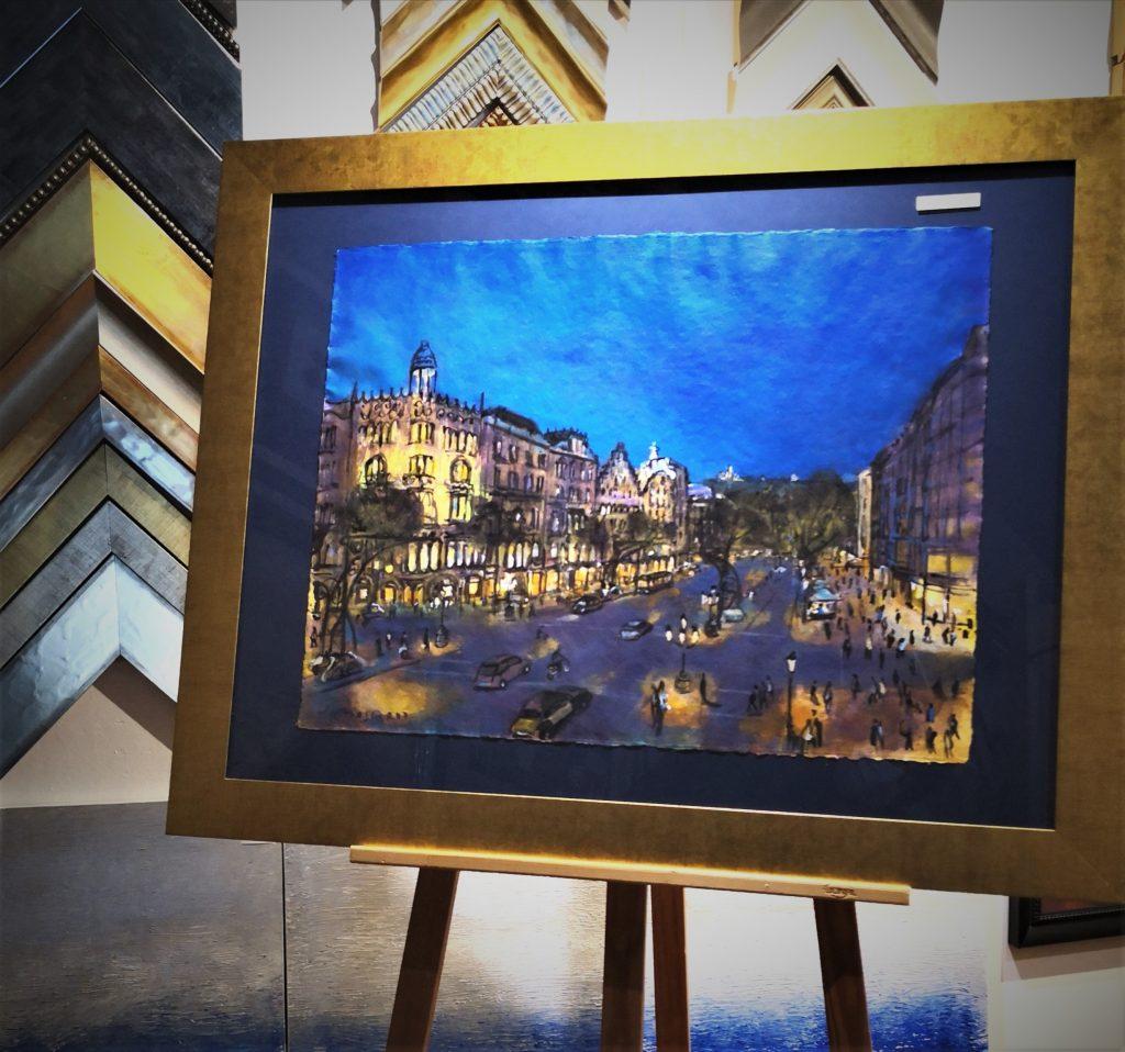 Pintures de Barcelona josep moscardo