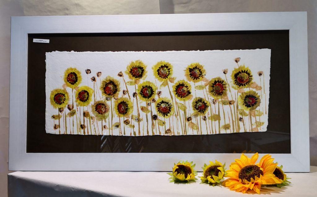 decora con cuadros modernos de flores