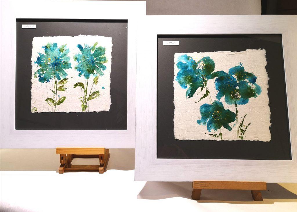 decora con cuadros de flores