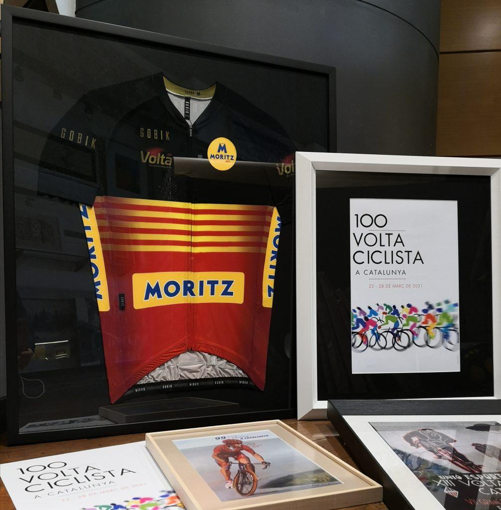 marco para camiseta de deporte ciclismo la Volta